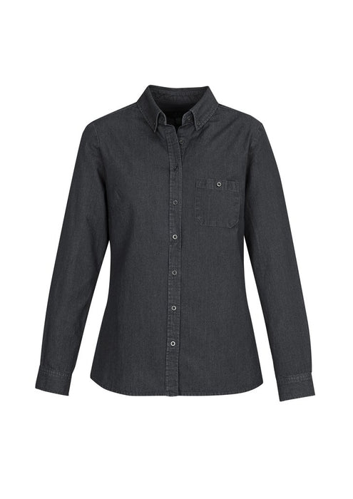 Shirt - BizCollection S017LL Indie Ladies Long Sleeve Shirt