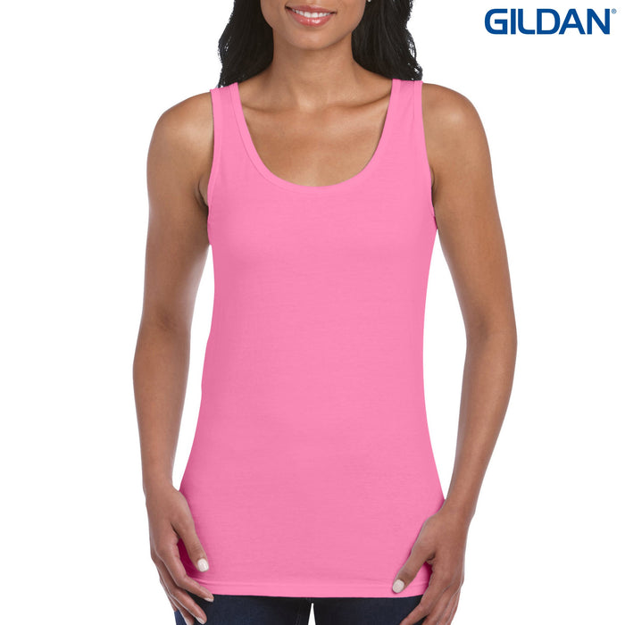 Singlet - 64200L Gildan Softstyle Ladies Tank Top