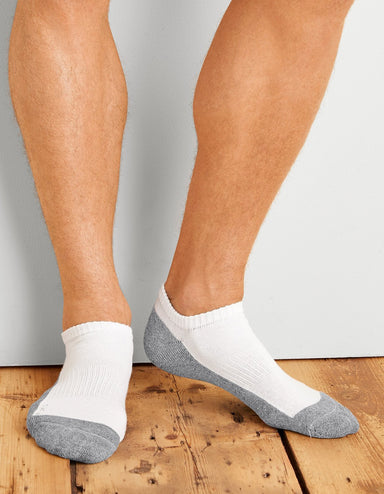 Socks - GP-711-6MBK-01 Gildan Mens No Show Socks