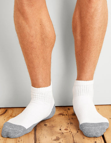 Socks - GP-731-6MBK-01 Gildan Mens Ankle Socks