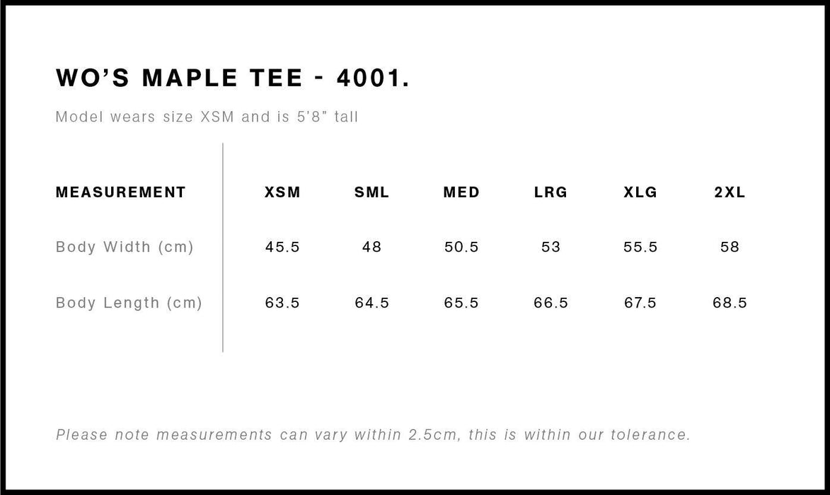 Tee - College Of Education - Maple Tee - Womens