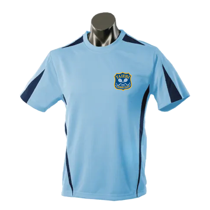 Tee - Taieri Tennis Club - Eureka Tee - Mens