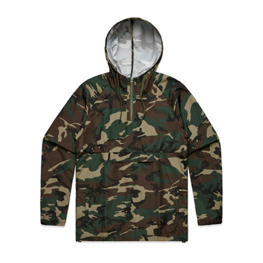 Tops - Mens Cyrus Camo Windbreaker - 5501C