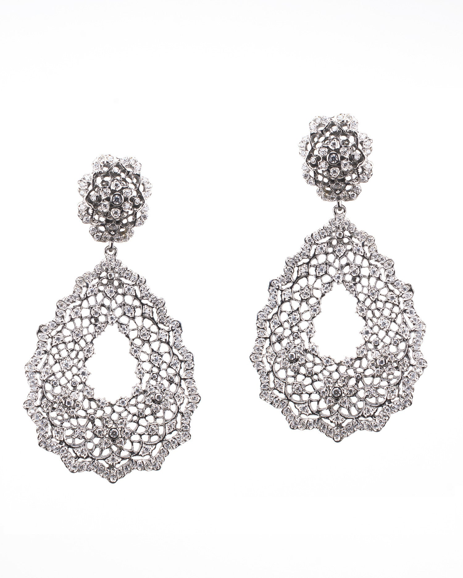 Open Lace Earrings