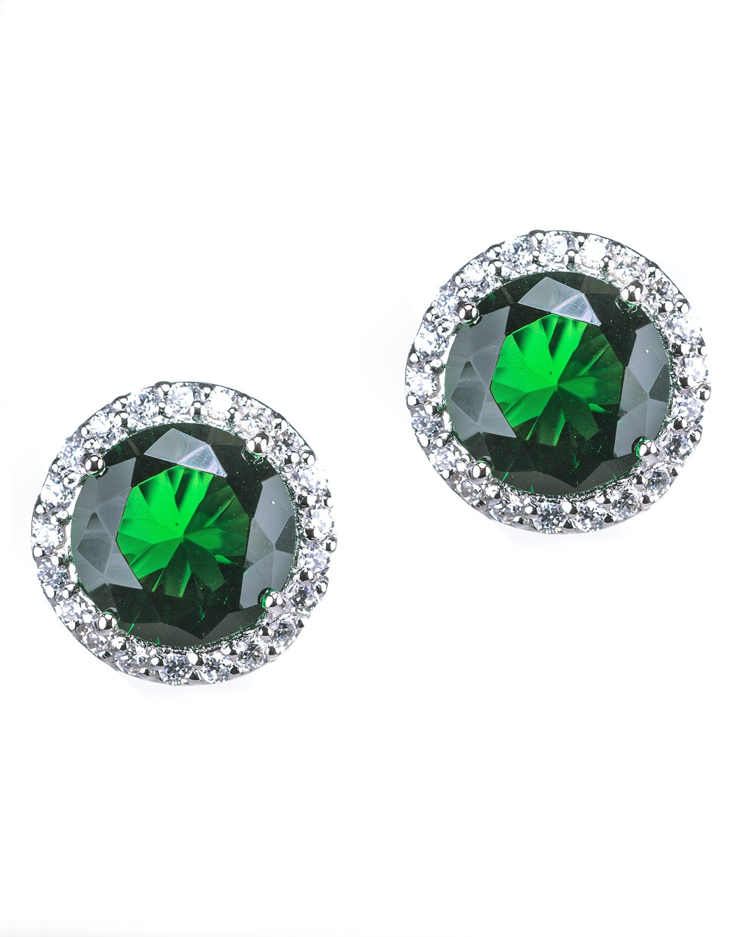 Bright Halo Stud Earrings