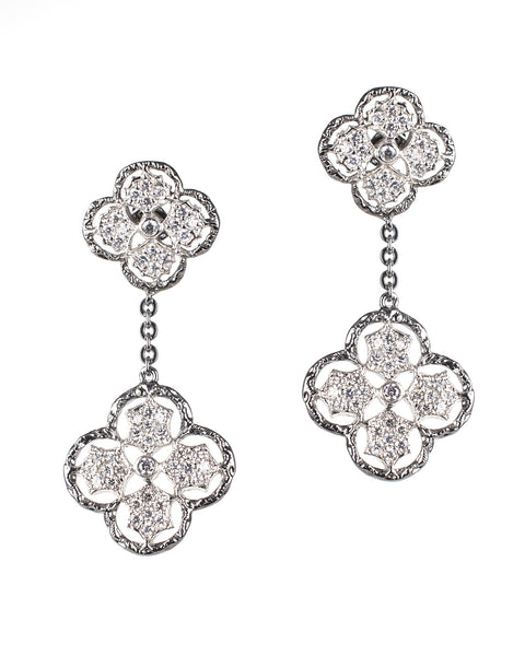 Classic Clover Drop Earrings