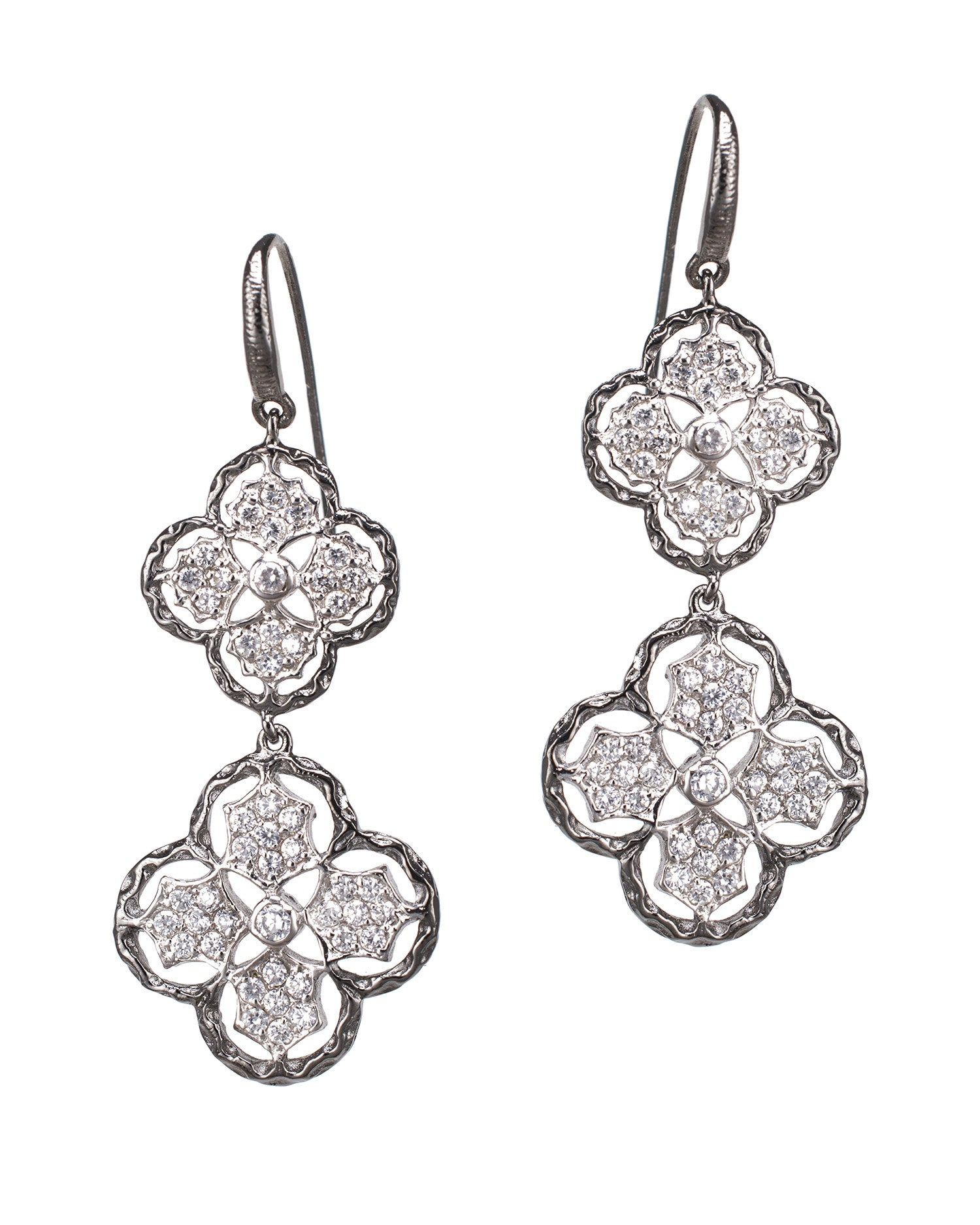 Italian Clover Earrings