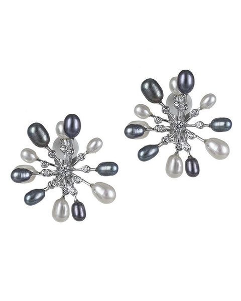 Freshwater Pearl Fireworks Earrings