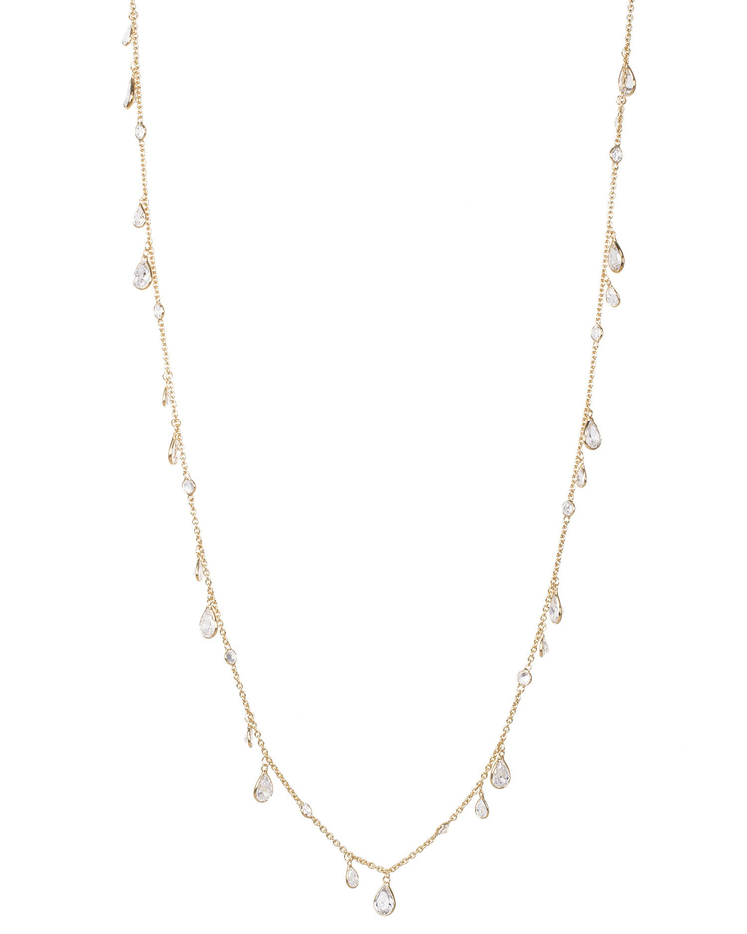 Elongated Flapper Necklace