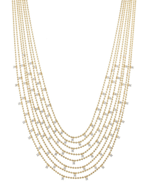 Draped Bib Necklace