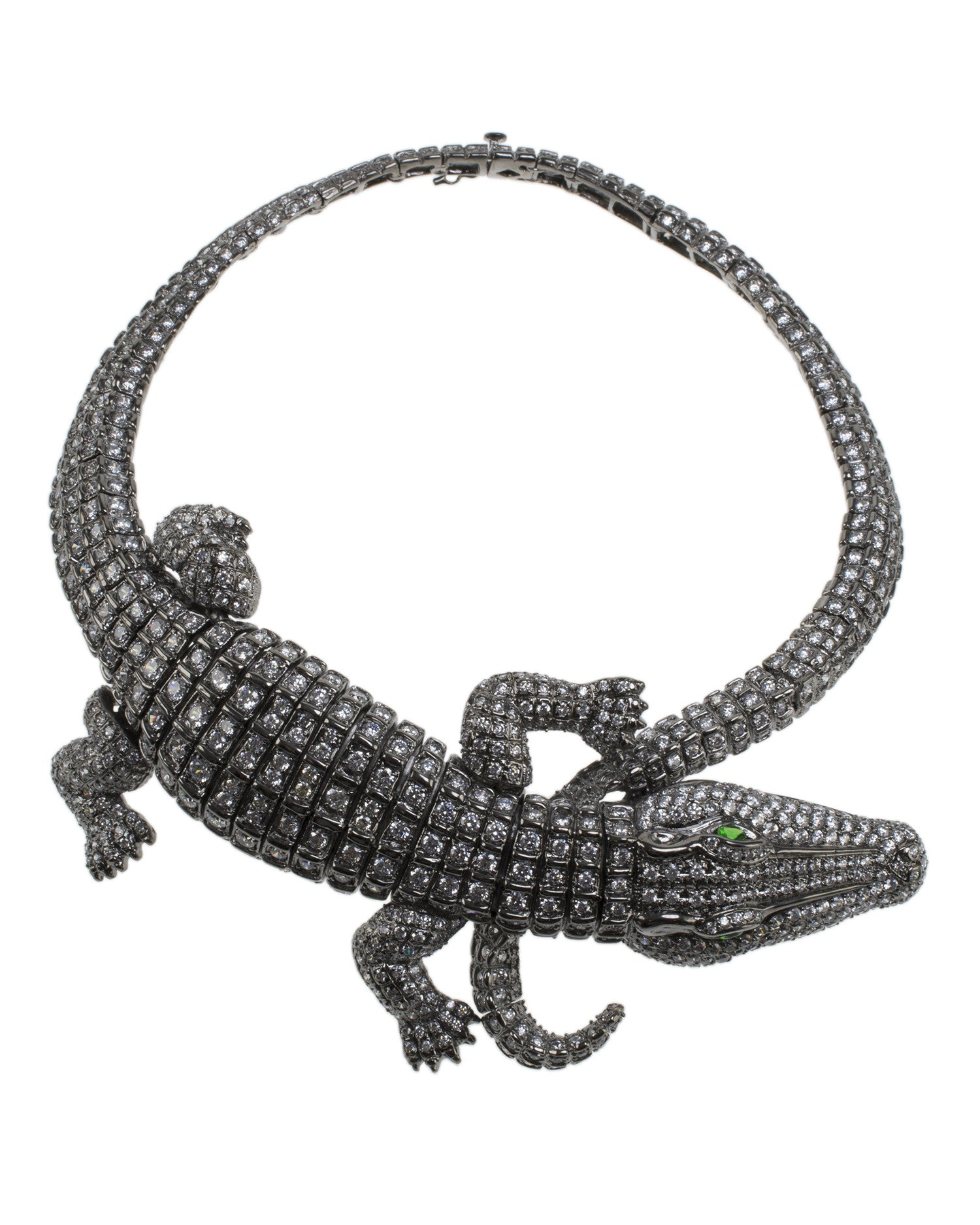 Crocodile Collar Necklace