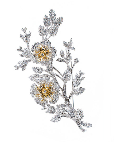 Royal Floral Brooch