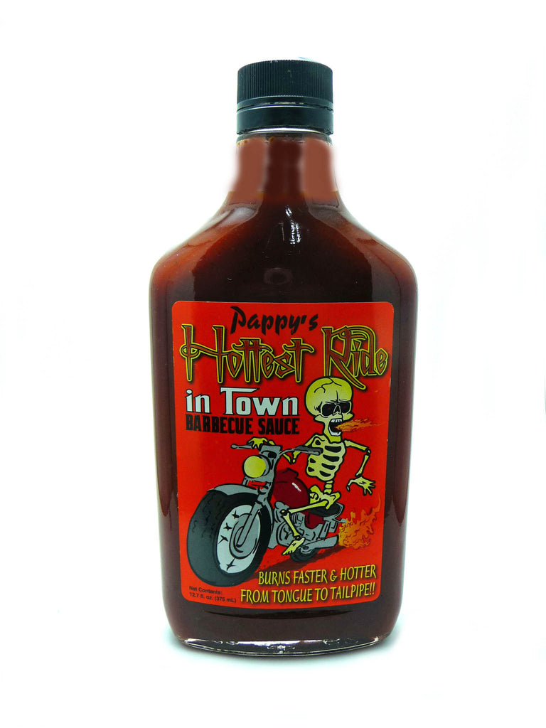 The Hottest Ride In Town BBQ Sauce