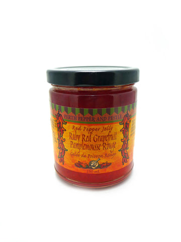 Ruby Red Grapefruit Red Pepper Jelly