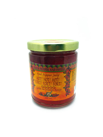 Hot Hot Hot Red Pepper Jelly
