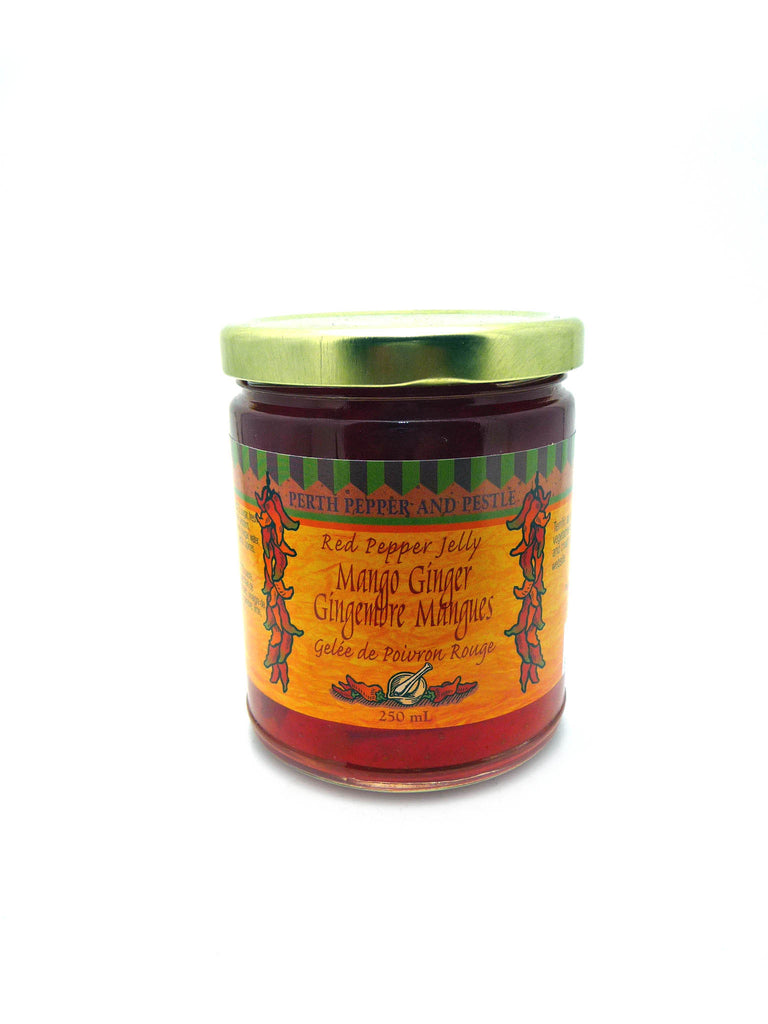 Mango Ginger Red Pepper Jelly