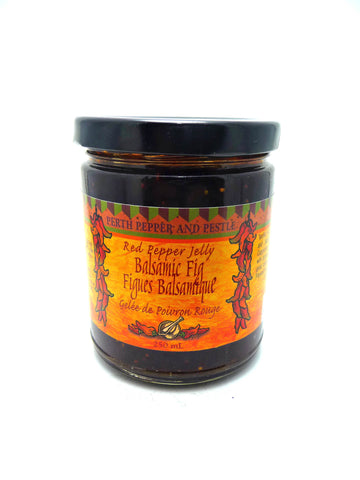 Balsamic Fig Red Pepper jelly