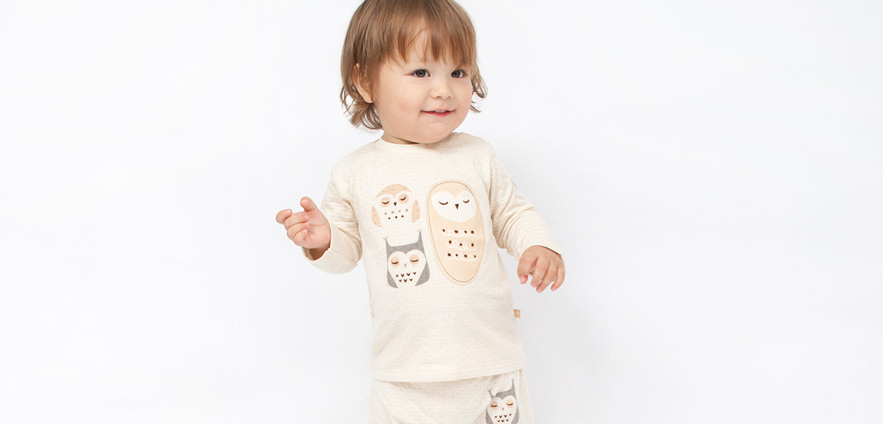 Night Owls - Organic Baby Clothes