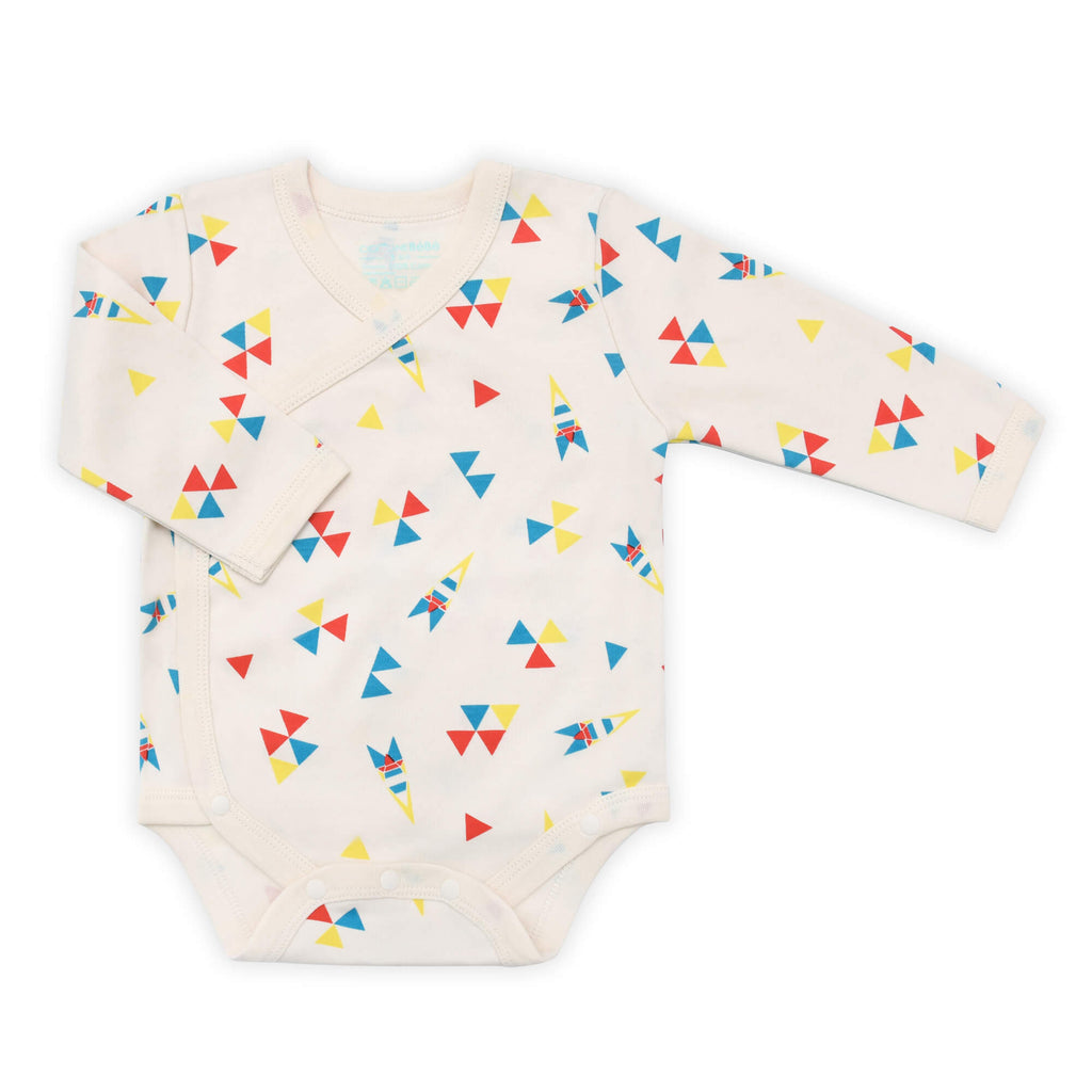 Astro Long Sleeve Organic Bodysuit