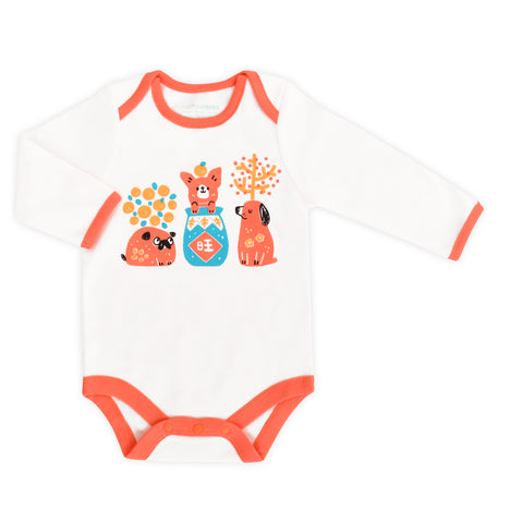 Year of Dog Organic Family Bodysuit