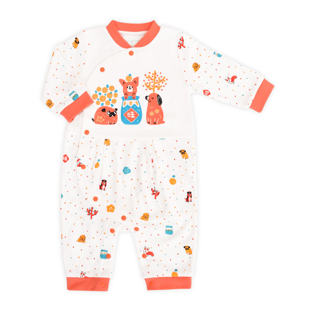 Year of Dog Organic Romper