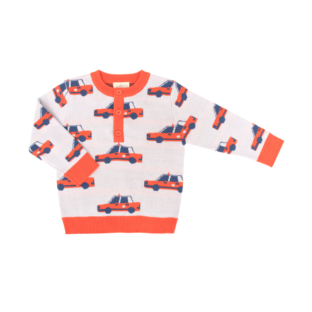 Hong Kong Taxi Jam Sweater