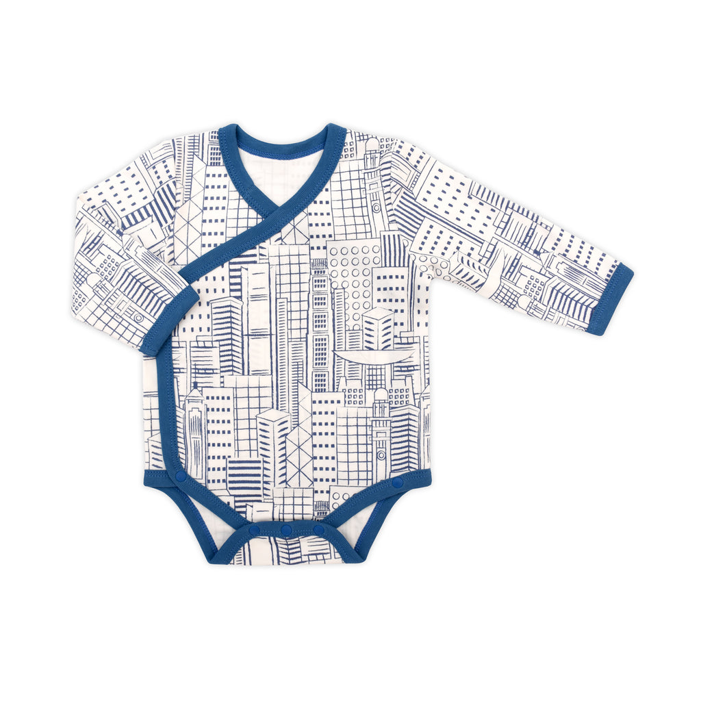 Hong Kong City Organic Bodysuit