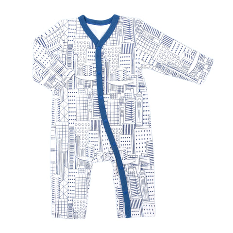 Hong Kong City Organic Romper