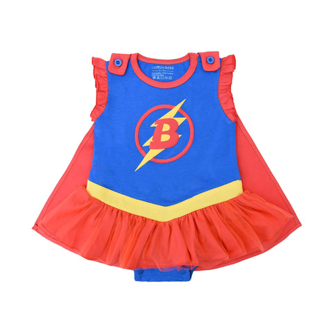 Superhero Action Bodysuit-Dress