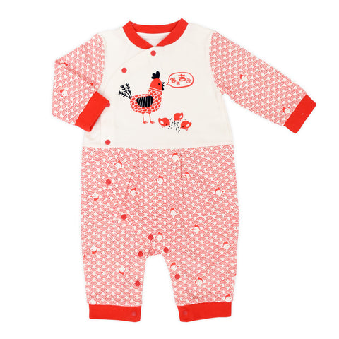 Rooster Organic Romper