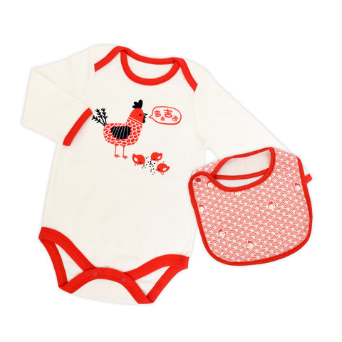 Rooster Organic Family Bodysuit
