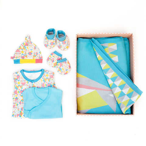 Frosty Love Blanket Set