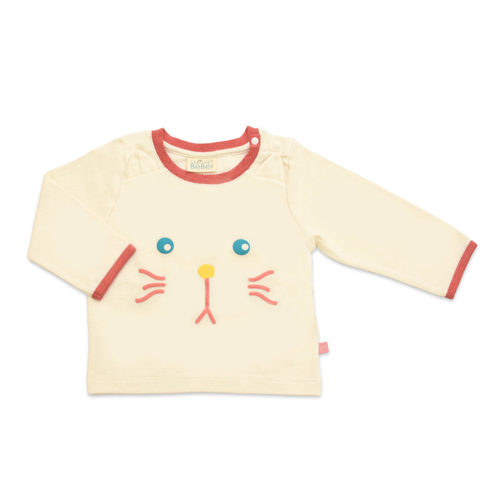 Magic Kitty Organic Long Sleeve Tee