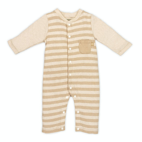 Naturally Coloured Cotton Rugby Romper