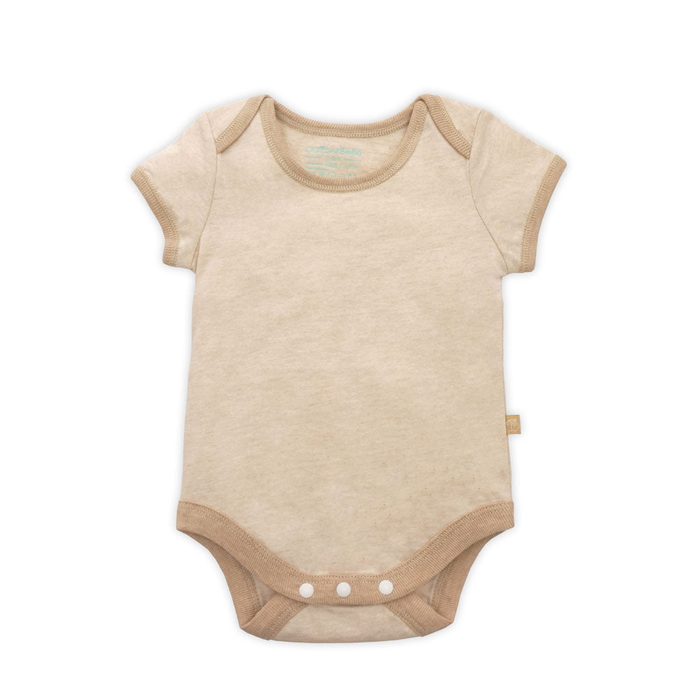 Organic Short Sleeve Bodysuit