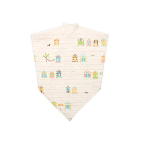 Organic Beach Hut Bib