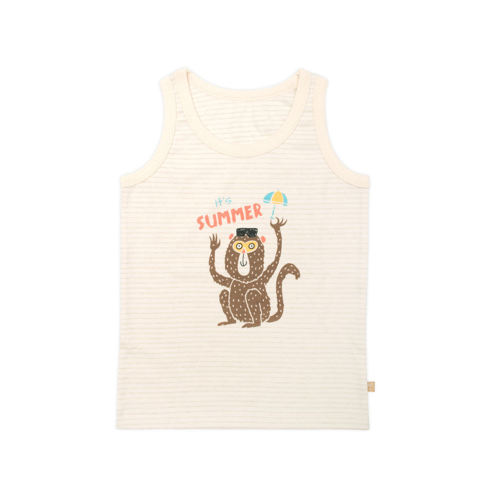 Organic Beach Monkey Tank Top