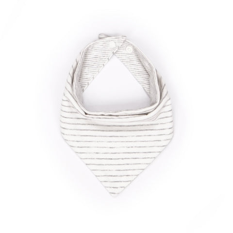 Chalky Stripes Reversible Bandana Bib