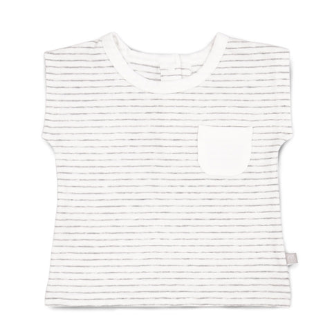 Chalky Stripe Square Tee