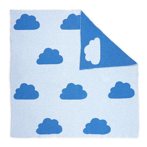 Cloudy Blanket Blue