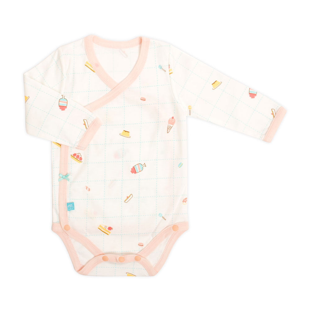 Dessert Organic Long Sleeve Bodysuit