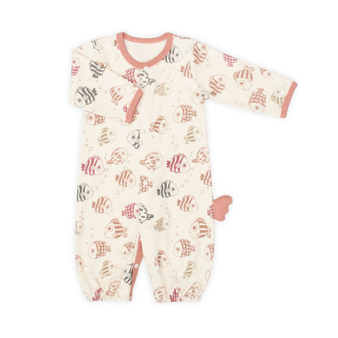 Under the Sea Organic 2-in1 Sleeping Gown