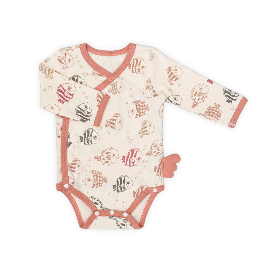 Under the Sea Organic Long Sleeve Bodysuit