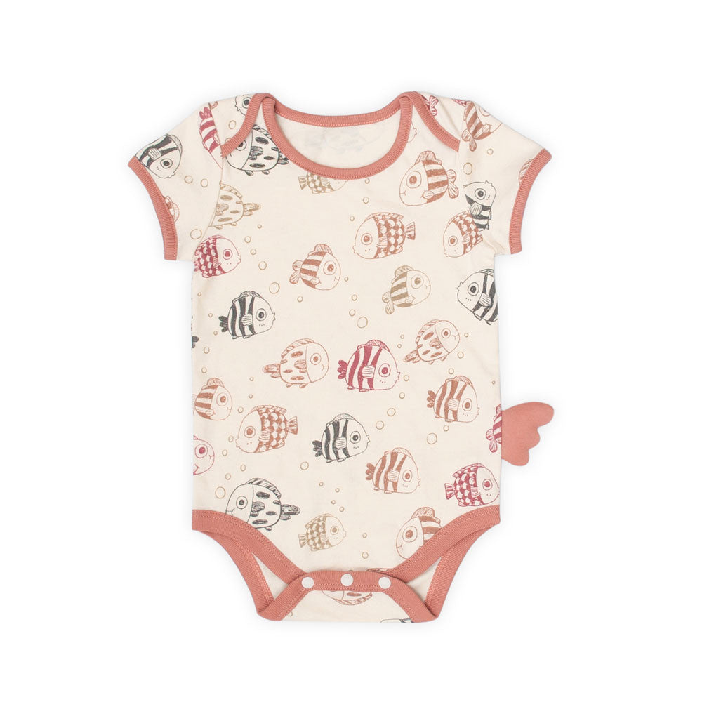 Under the Sea Organic Short Sleeve Bodysuit