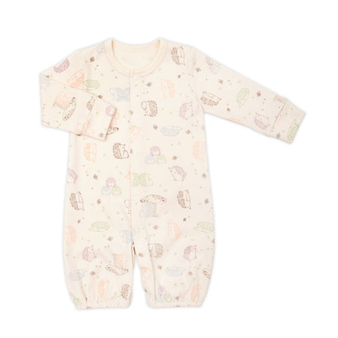 Hedgehog Organic 2-in-1 Sleeping Gown