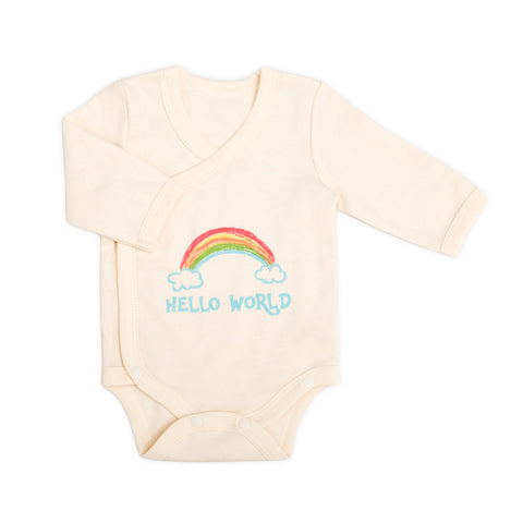 Little Rainbow Organic Bodysuit