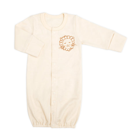 Little Lion Organic 2-in-1 Sleeping Gown