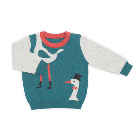 Magic Stork Sweater