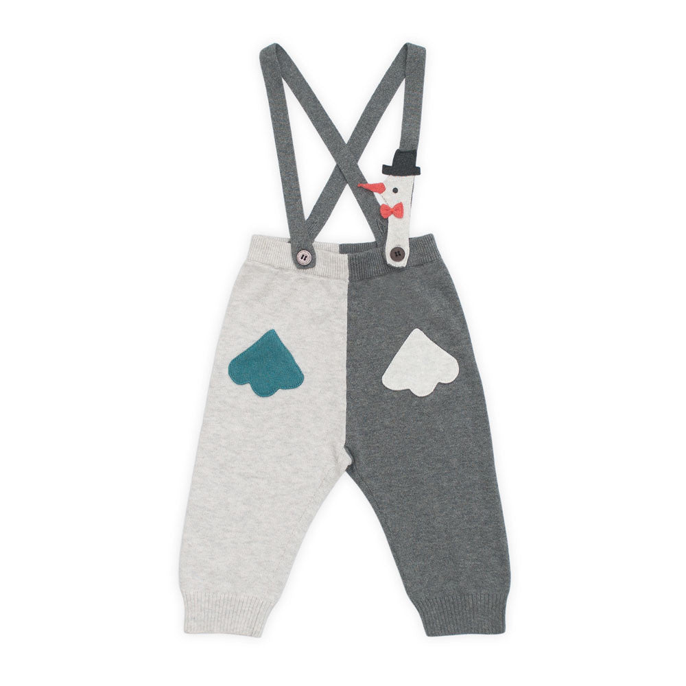 Magic Stork Suspender Knit Pants