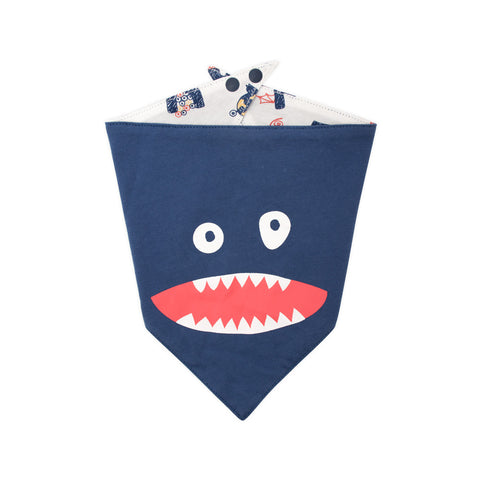 Alphabet Monster Organic Bib